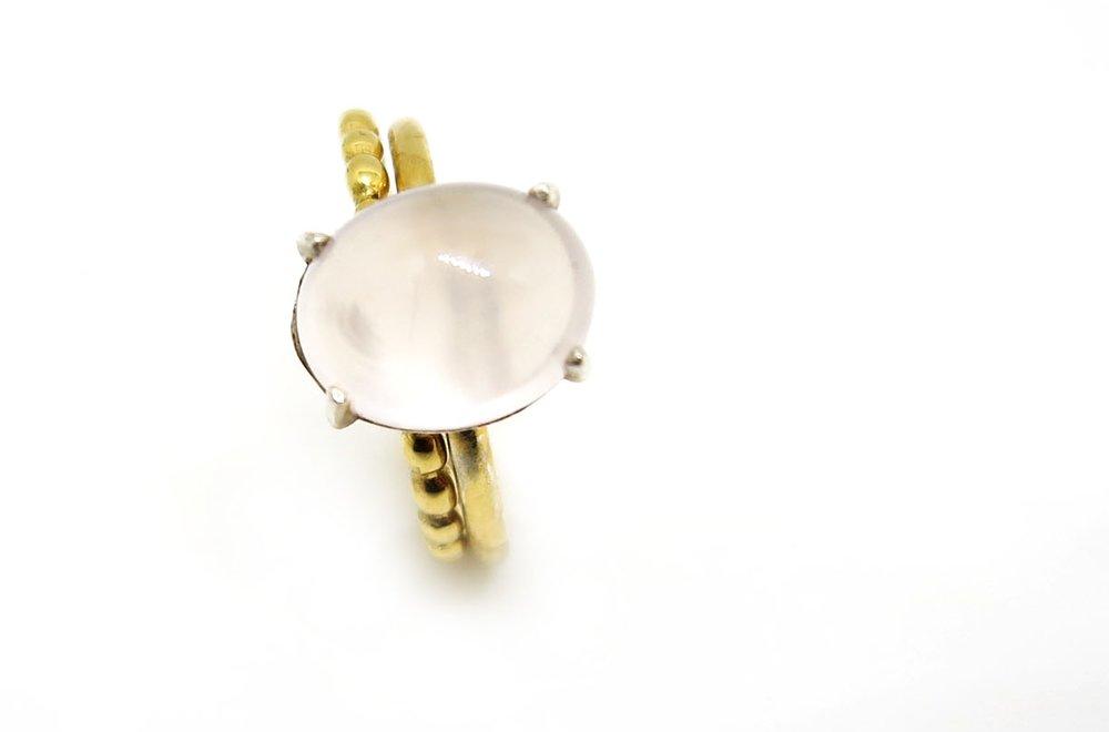 Dot Ring Gold