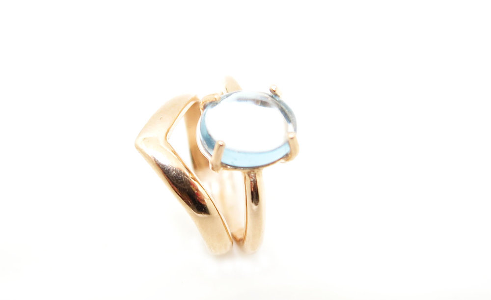 Blue Star Ring