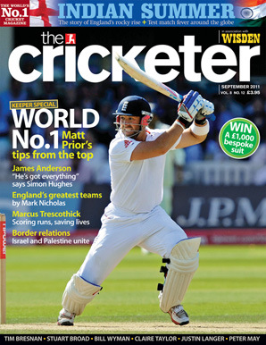 The Cricketer - India in England 2011