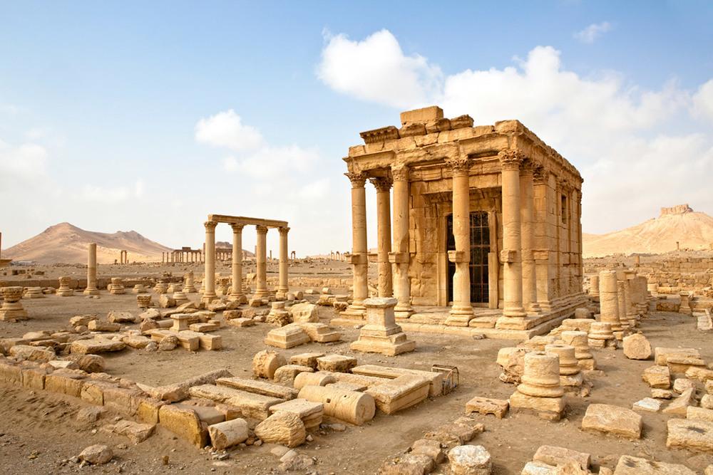 Medium - On Palmyra and Constantinople