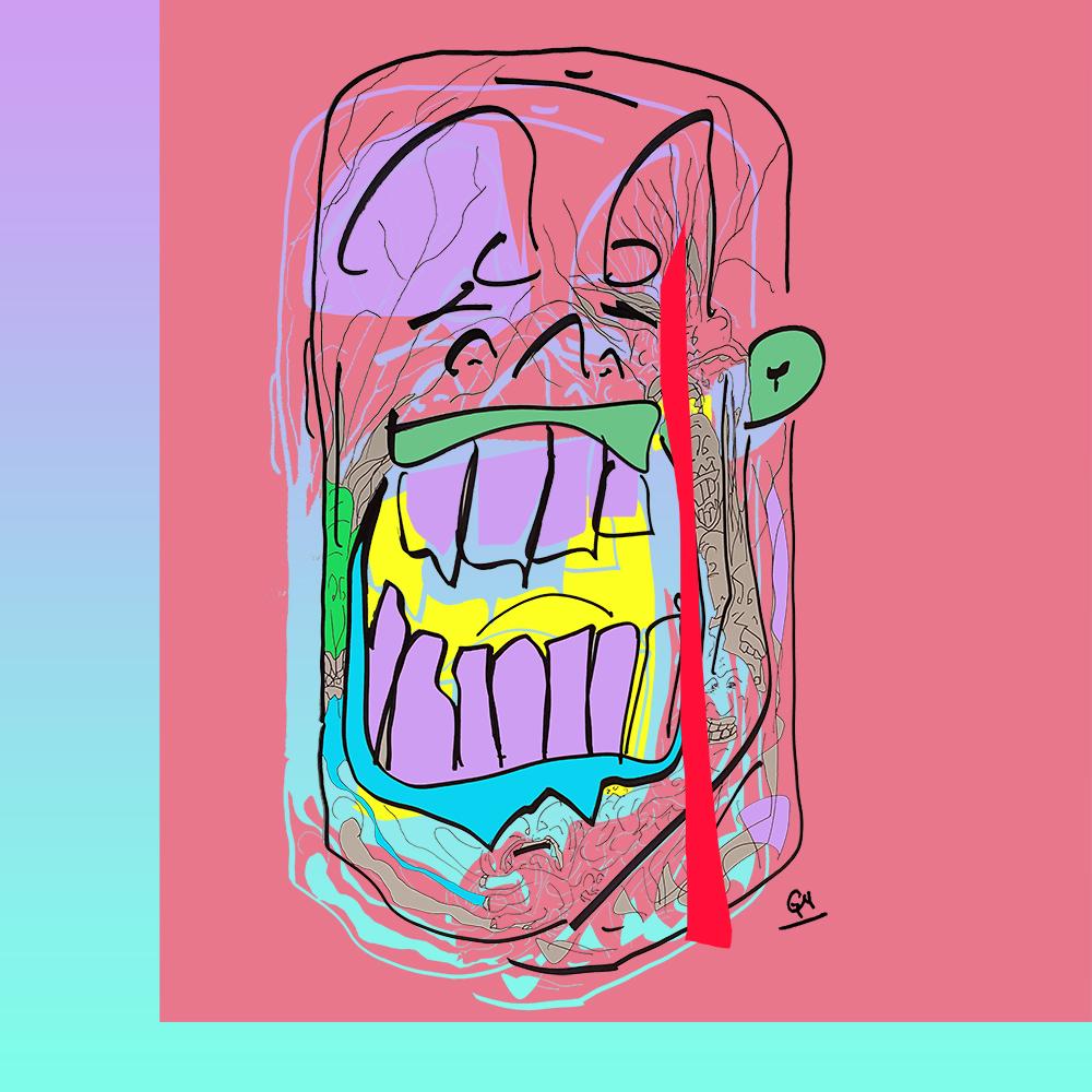 Gaugamela (Ink & Digital coloruing, 2017)