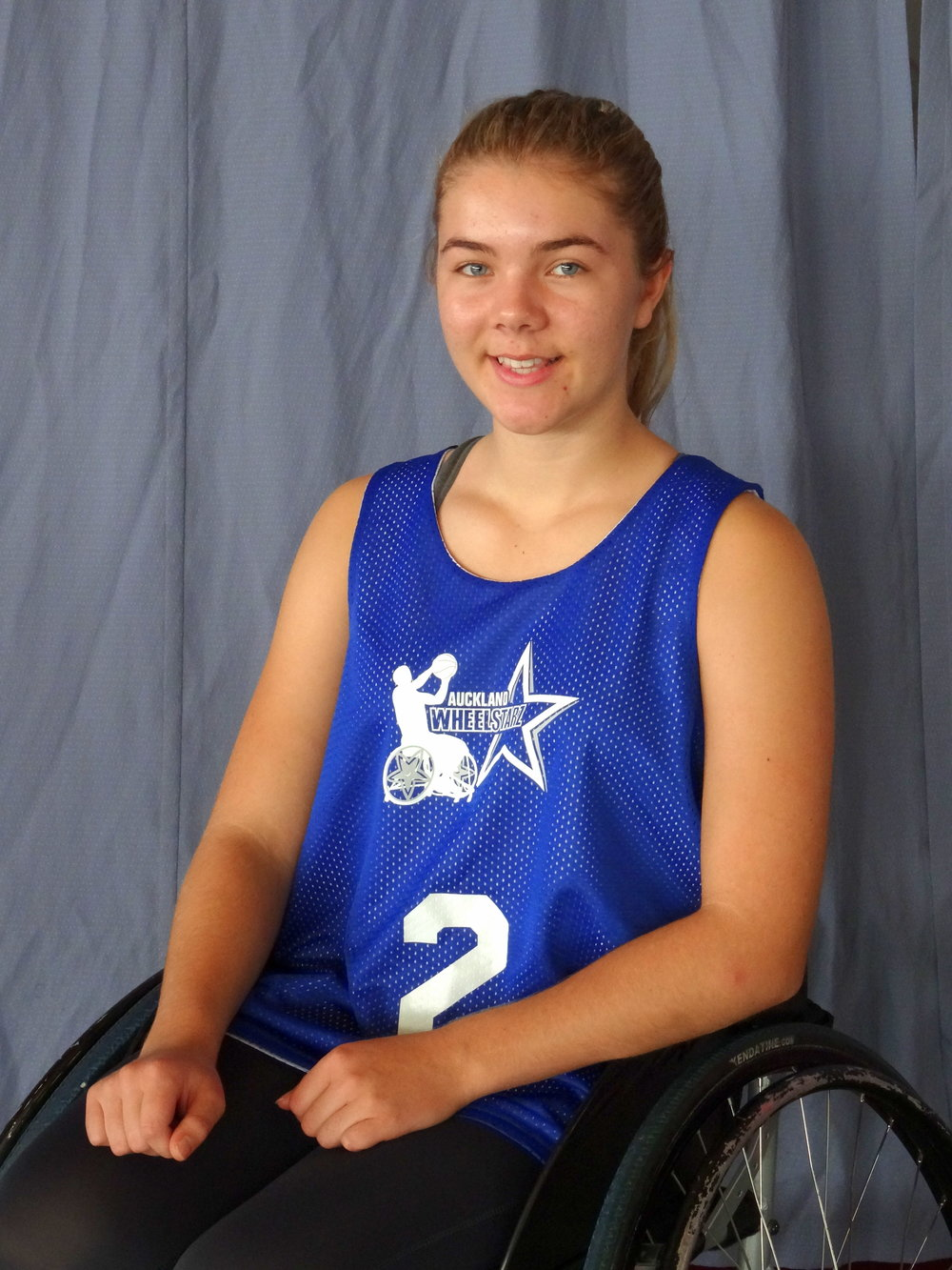 Daisy Eaglesome - I am 15 years old and I have Spina Bifida. I played netball until my first year of intermediate when it started to get more fast paced. I had heard about wheelchair basketball from a friend who plays for a Taranaki team and she encouraged me to give it a go. I have now been playing for 3 years and I absolutely love it. I used to think of sport as something I wouldn't be very involved in but discovering wheelchair basketball and wheelchair turbo touch has given me a whole new mindset. I love the competitiveness, speed, fitness, learning new techniques and meeting a lot of awesome people. I have travelled to Australia to play in a women's wheelchair basketball festival and look forward to more tournaments this year. I can't wait to see what the future holds for me and other young players in wheelchair basketball.
