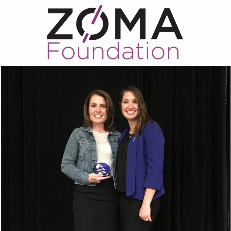 Zoma Foundation Senior Program Officer Tiffany Perrin and Jade Woodard