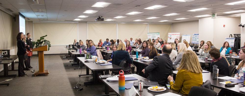 Over 80 clinicians gathered to share best practices around caring for women and newborns impacted by substance use, especially opiods.