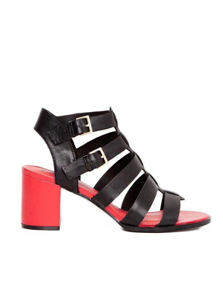 Rouge Gladiator Sandals