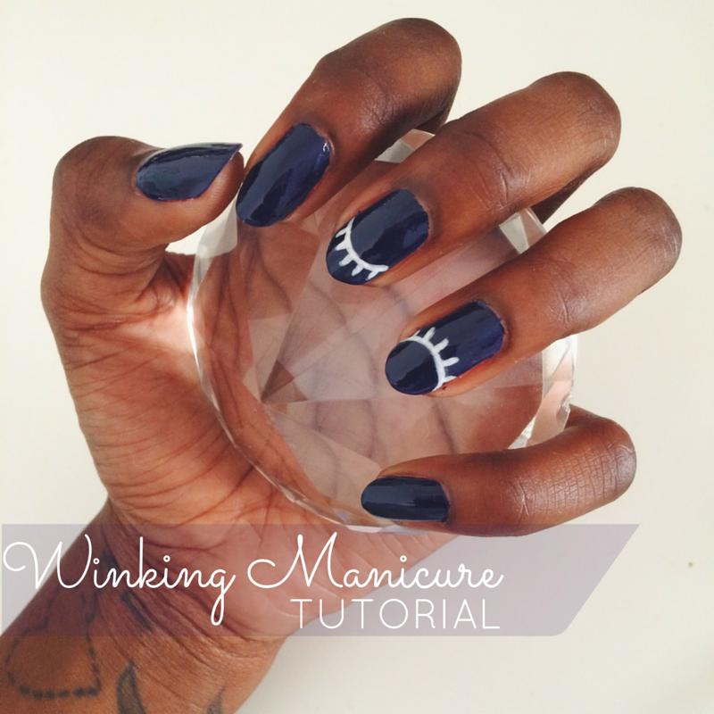 Winking Manicure Tutorial