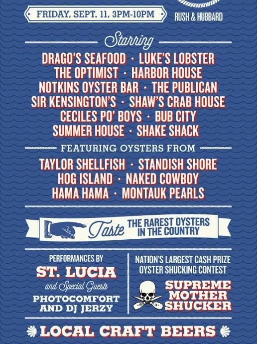 Oyster Fest Chicago 2015