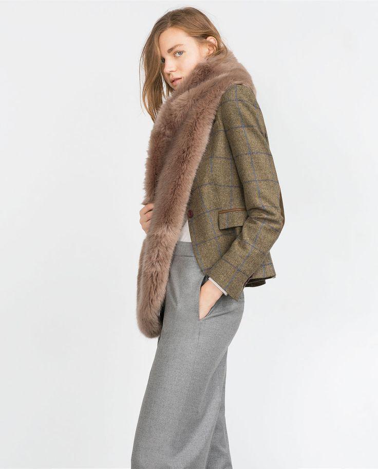 Zara Mauve Stole $99.90