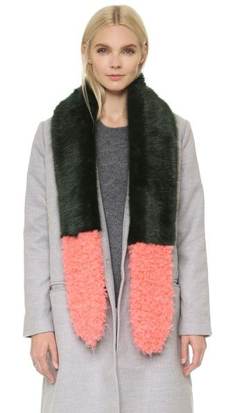 ShopBop ColorBlock Stole $295