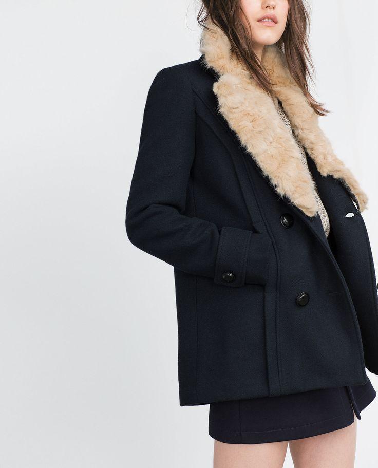 Zara Faux Fur Jacket $149