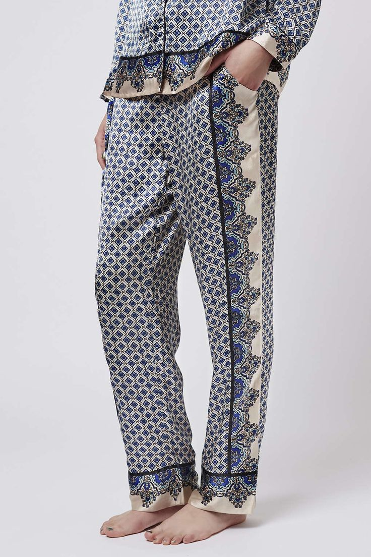 I am obsessed with these pants and want a pair for myself to lounge in. The print is gorgeous and they would make a great addition to the closet of any boho girl.