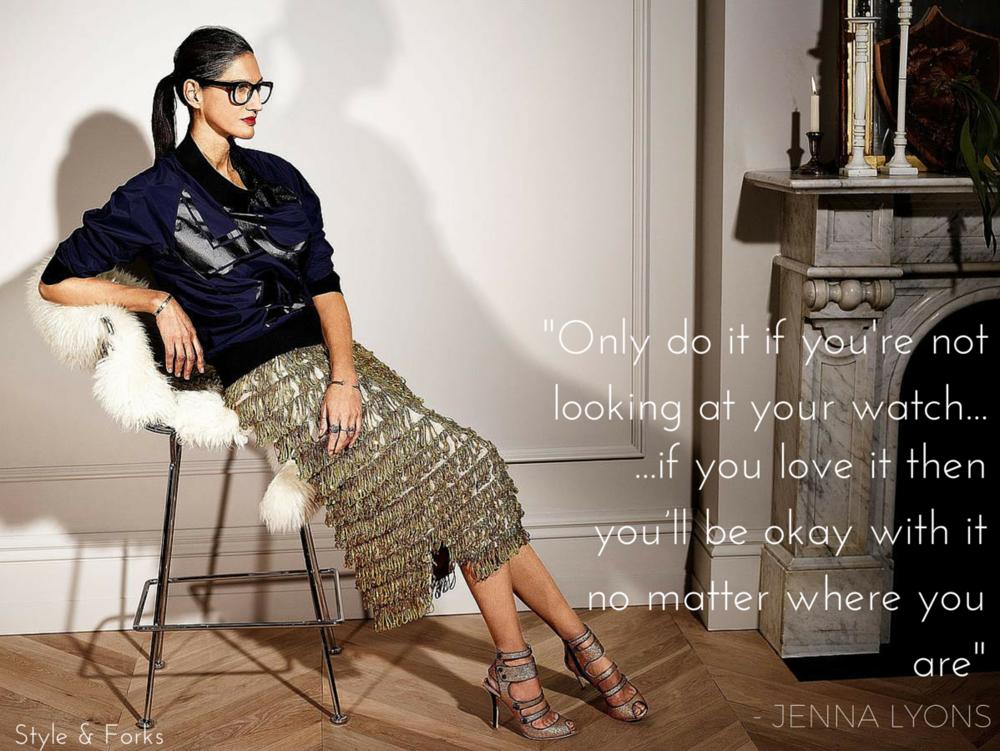 Style & Forks: Jenna Lyons