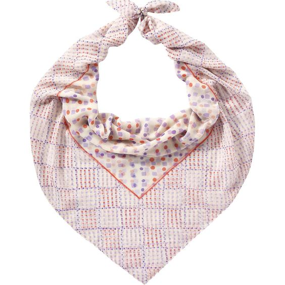 Joe Fresh Polka Dot Scarf