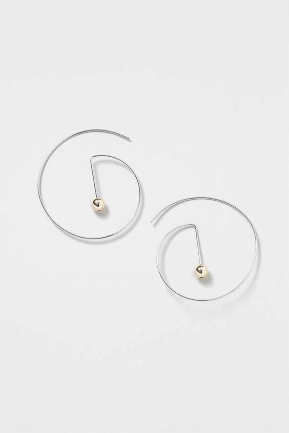 Topshop Minimal Earrings
