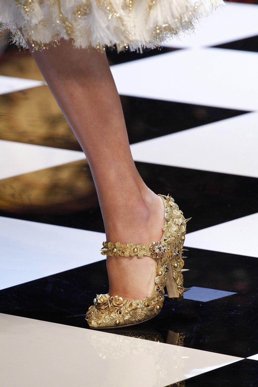 Dolce & Gabbana: Photo via  Vogue