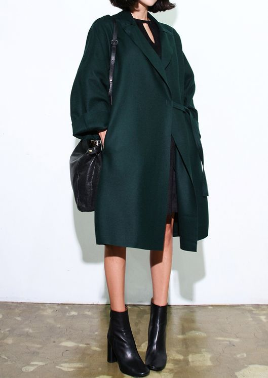 Oversized Emerald Coat