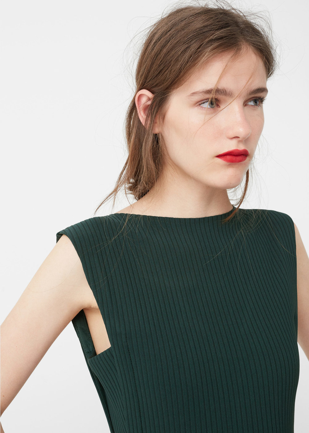 Mango  - Tailored Ribbed Dress