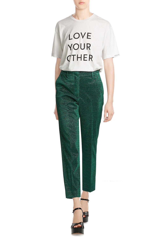 Stylebop - Golden Goose High Waisted Lamé Pants