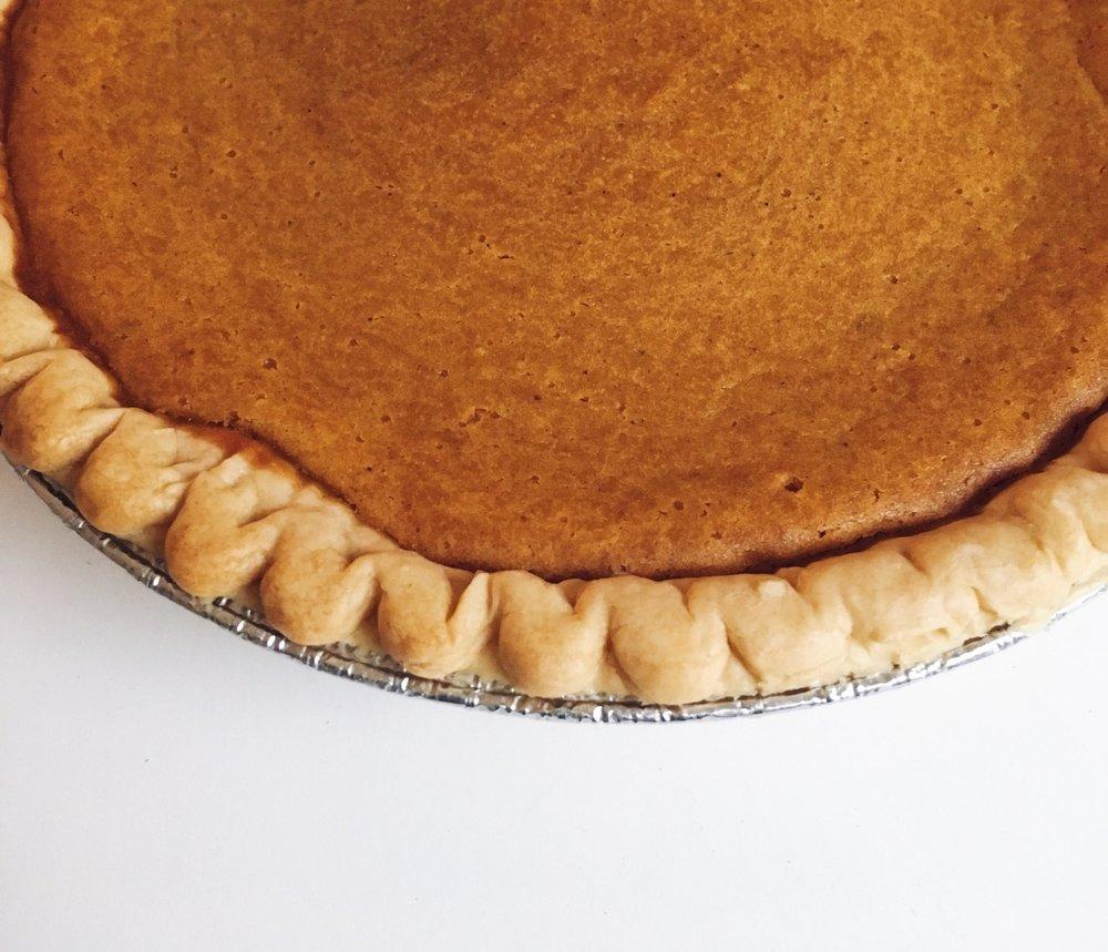 yummy yummy sweet potato pie