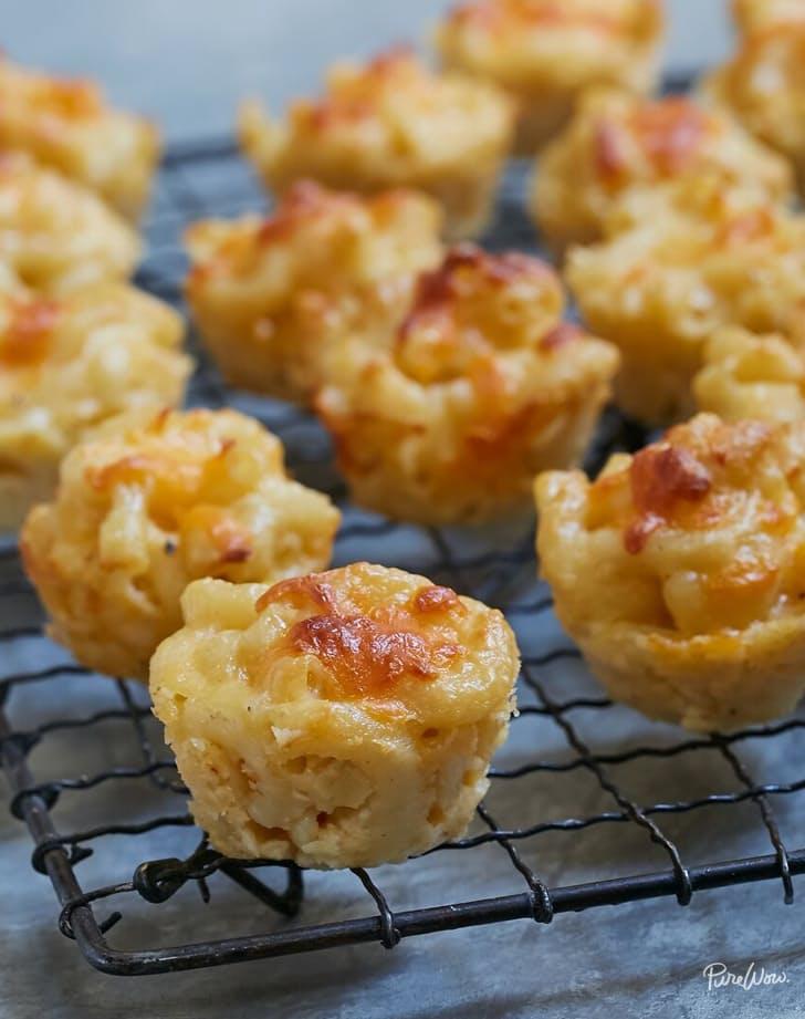 Mac & Cheese Bites via  Purewow