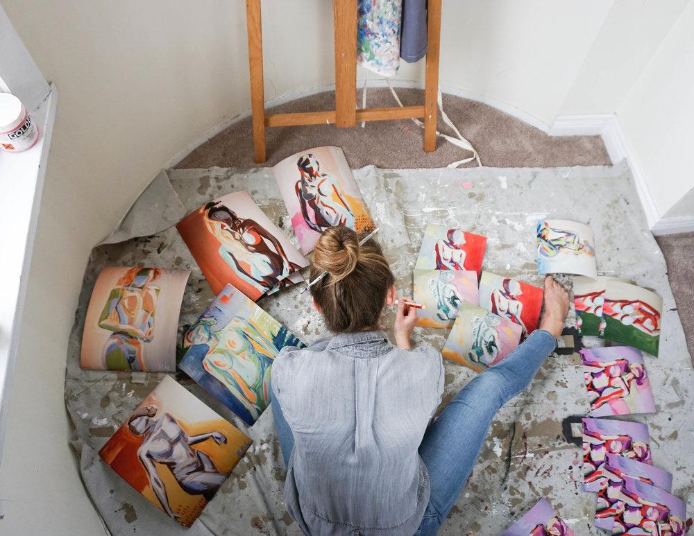 Spotlight on Artist Katherine Corden