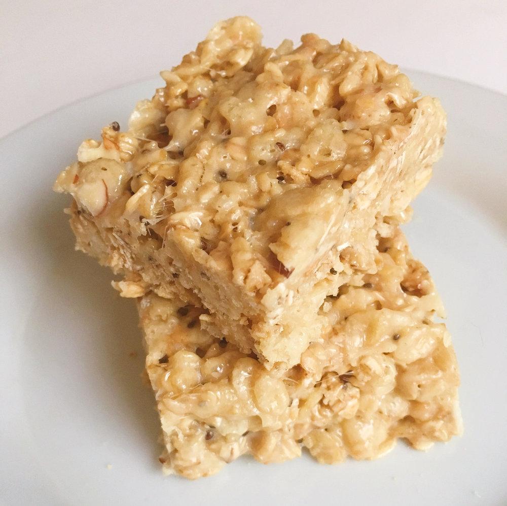 Coconut Granola Rice Krispie TReats 2
