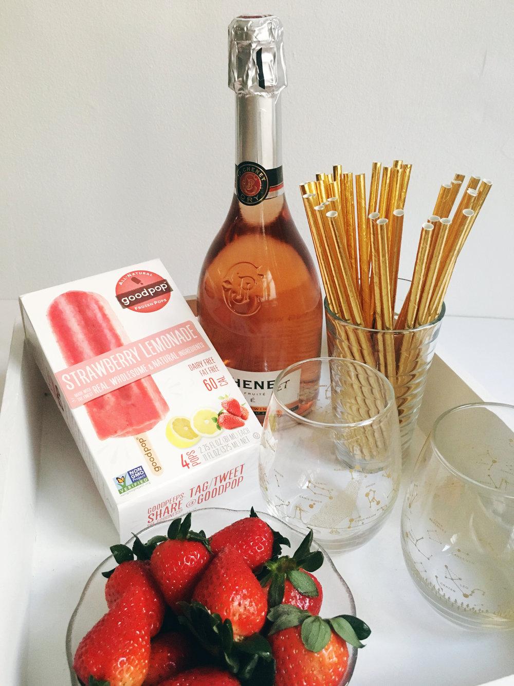 Popsicle Rosé Mimosas