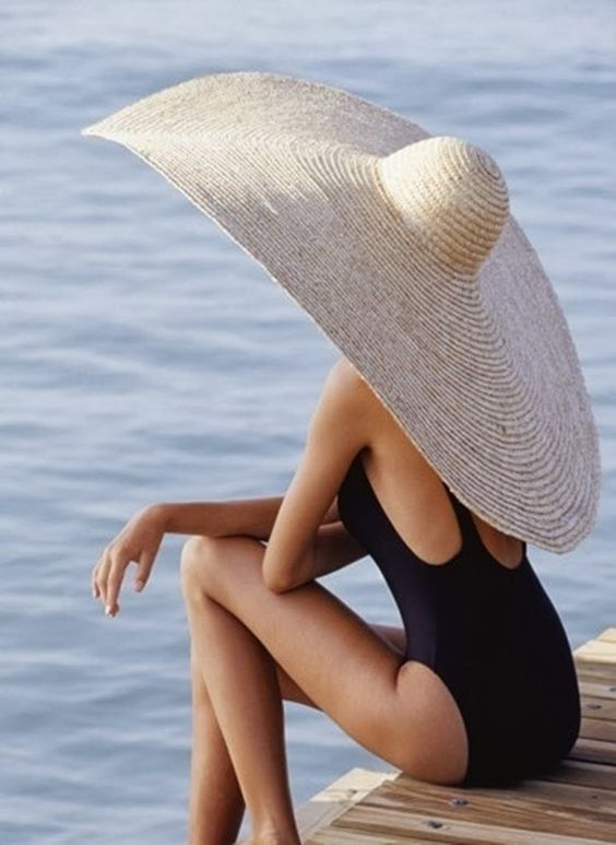 Comically Large Sun Hat