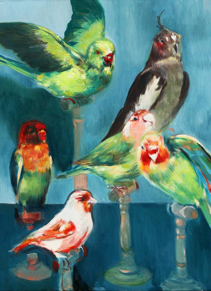 Marina Taleb  - Birds