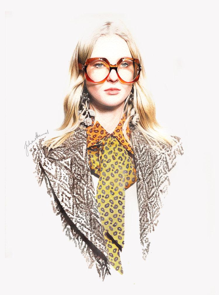 Juliane Hennes  - Gucci