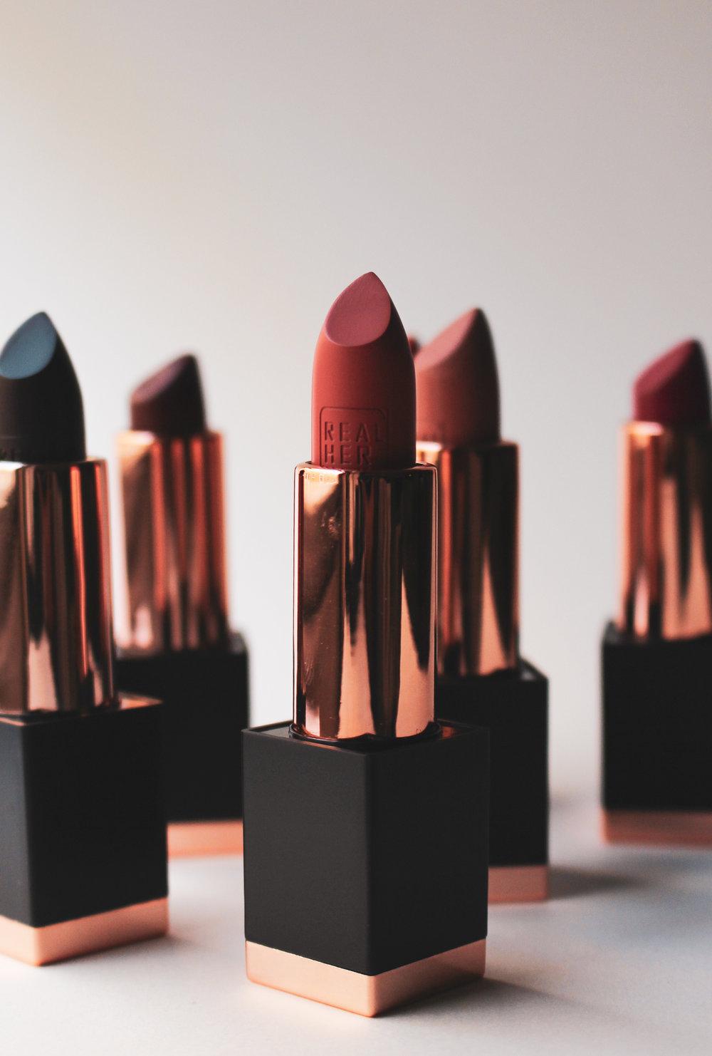 RealHer Matte Lipsticks