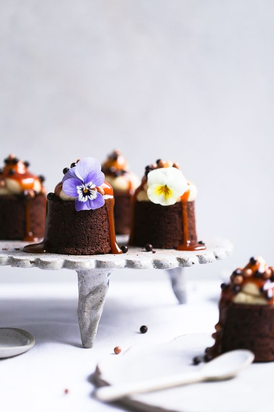 Earl Grey + Salted Caramel Brownies .jpg