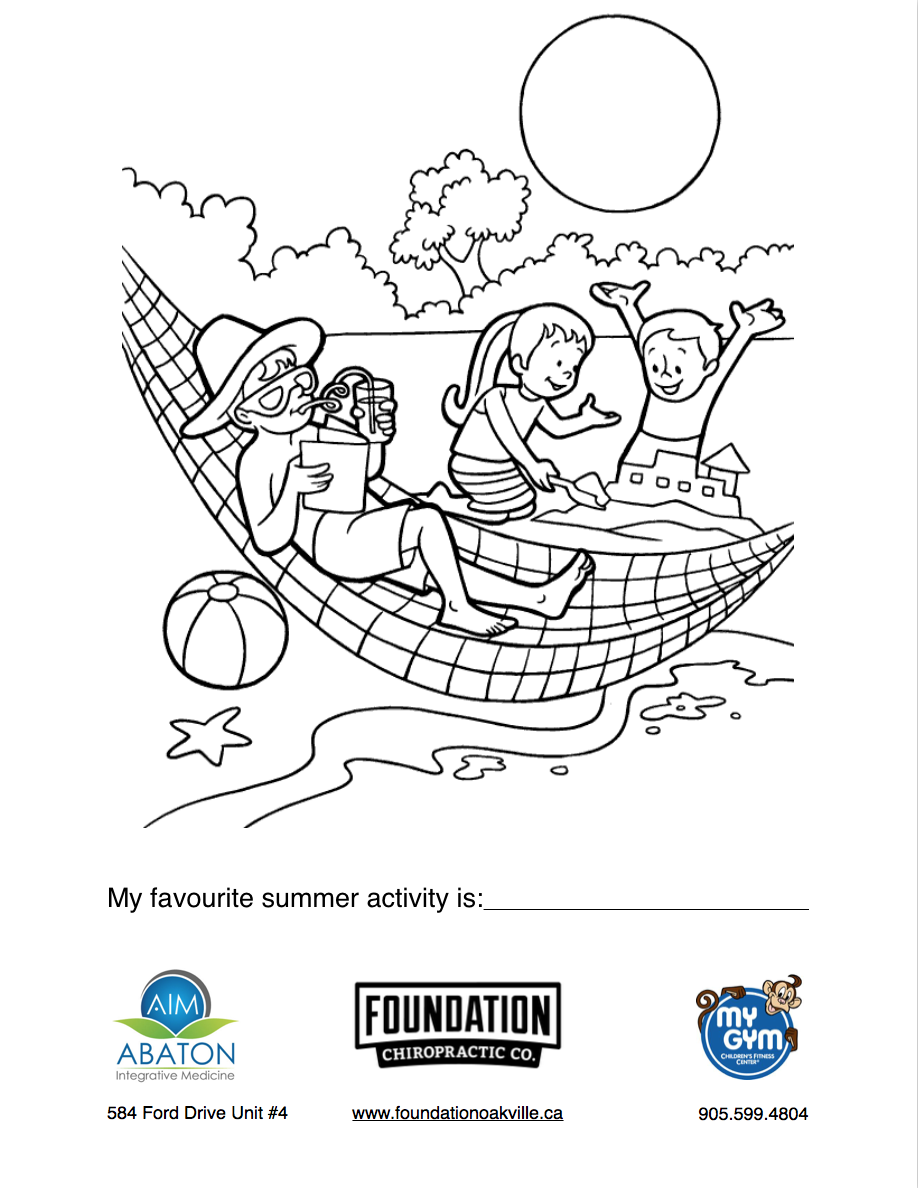 Foundation's Summer Colouring Contest