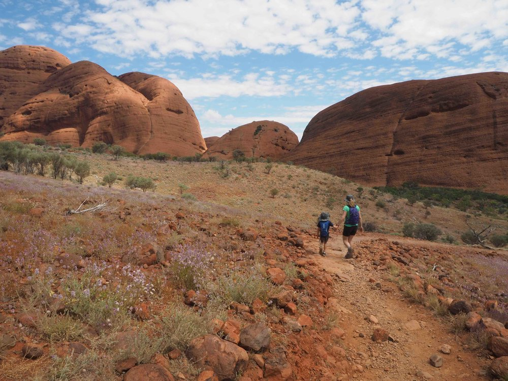 Kata Tjuta walking