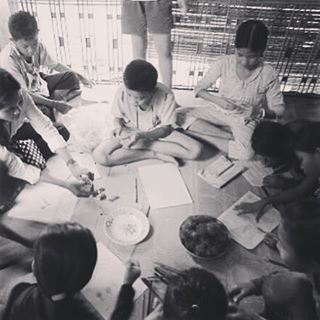 We are so excited about writing to our #mentors and we do it while having some oranges and rambutans!  Can you spot the pictures we have drawn for our mentors?  Want to do something that really helps a child in Cambodia? #Mentor our children. We're looking for people with the #patience and #warmth to pick up a pen and brighten the lives of children in the slums of Cambodia at #Riverkids  More information at www.riverkidsmentor.org  #love #campaign #beTheChange #cambodia #riverkids