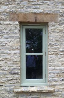 Bespoke handmade barn window