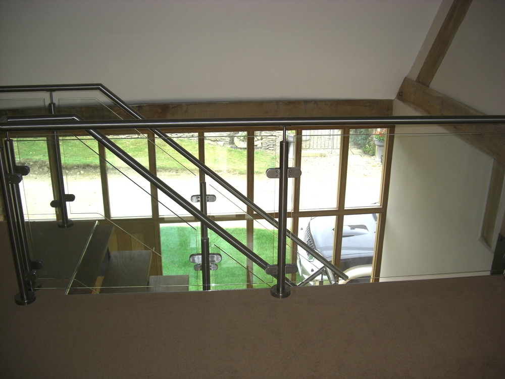 Bespoke and stainless steel balustrading