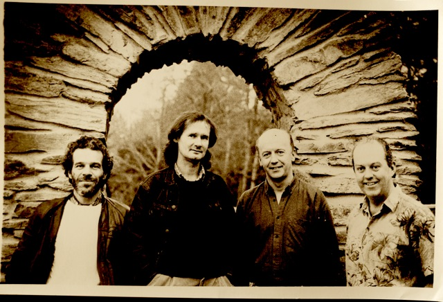 Buttons & Bows in 1991 during recording of Gracenotes album
