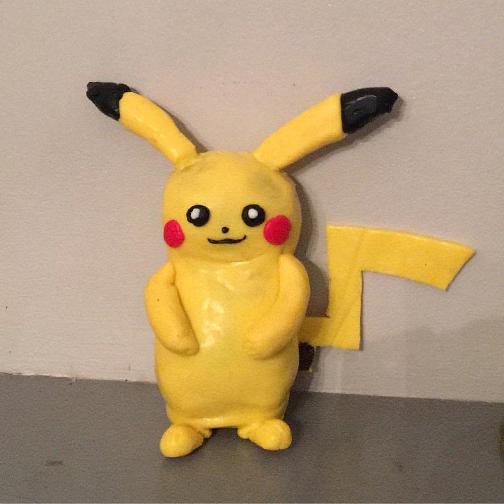 Nutty Putty Pikachu