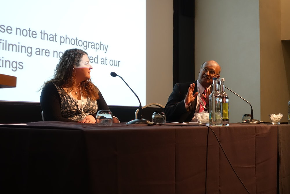 Miss Emily West from Bristol and Professor Raja Sabapathy answer questions on sever hand injuries