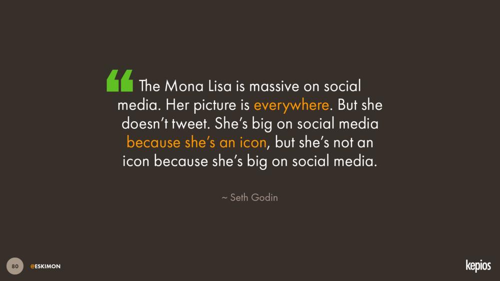 Kepios - Hootsuite Future of Social - The Mona Lisa on Social