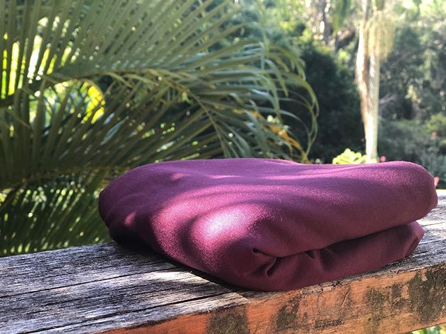 Well aren't you a beauty ✨ New wine 🍷 colour ~ available SOON ! Happy Friday #burrowbaby #bamboo #swaddleblanket #babycarrier