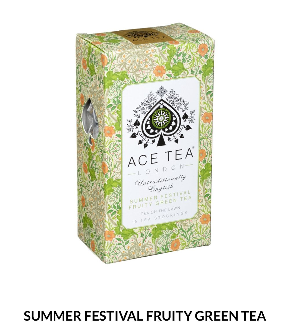 Gorgeously fruity, bursting with summer aromas and a hint of freshly cut grass.  15 Tea Stockings- 37.5g  $8