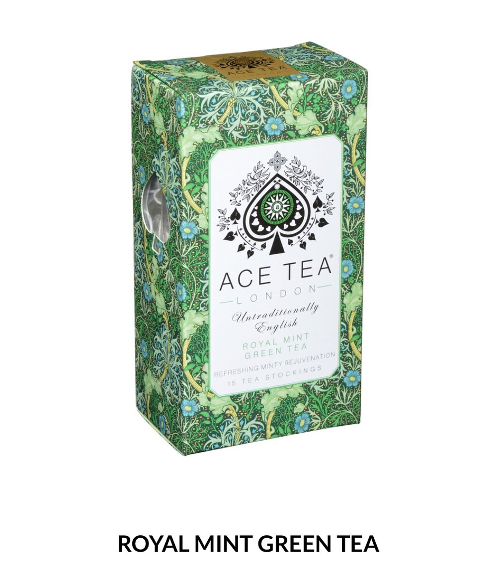 A Strong mint expression that clears the head. Immensely refreshing, intense and energetic.  15 Tea Stockings- 37.5g  $8