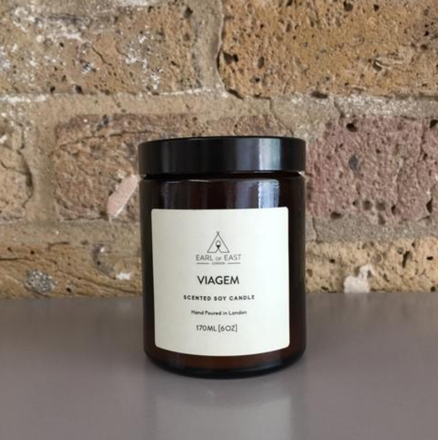 VIAGEM  worked with sweet coconut, green oregano and vetiver to exhilarate the earthy fig, creating a sense of hazy and balmy summer nights.                  170ml [6 oz]  $30