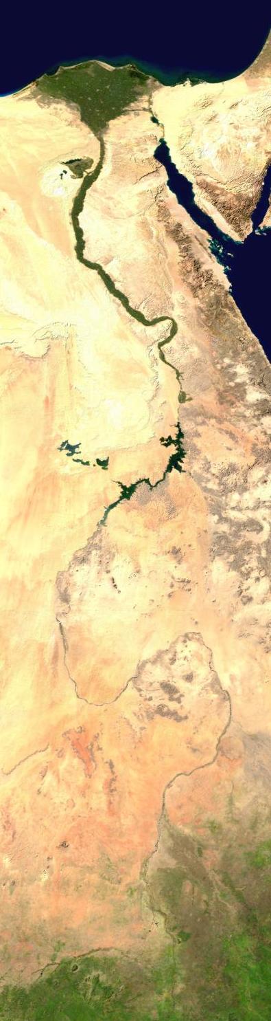 Composite Photo of Nile River