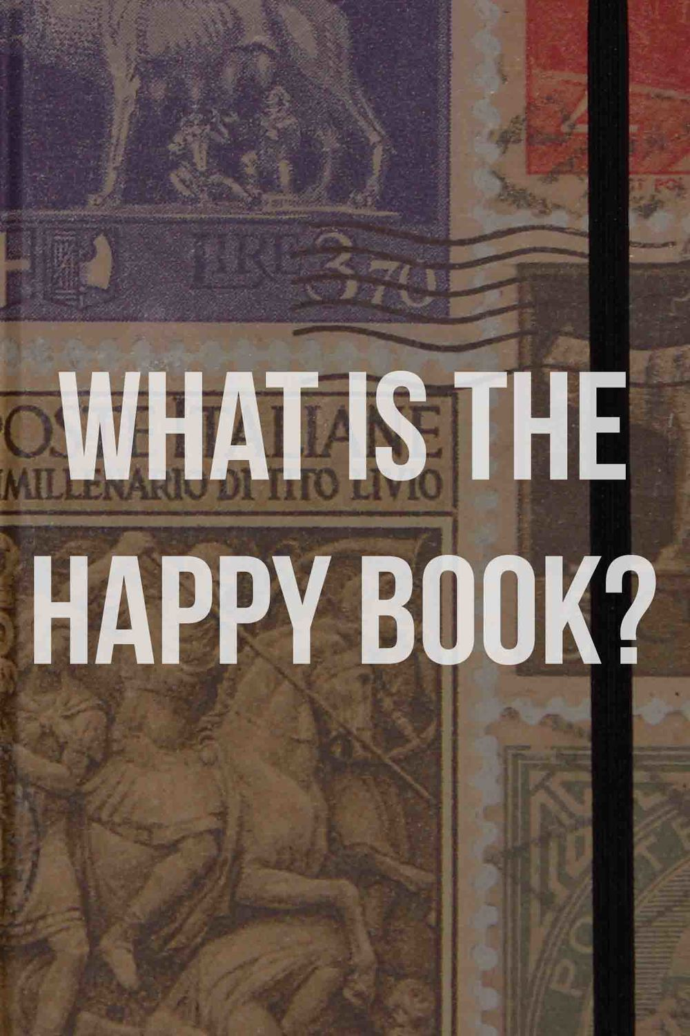 The background is the real happy book.