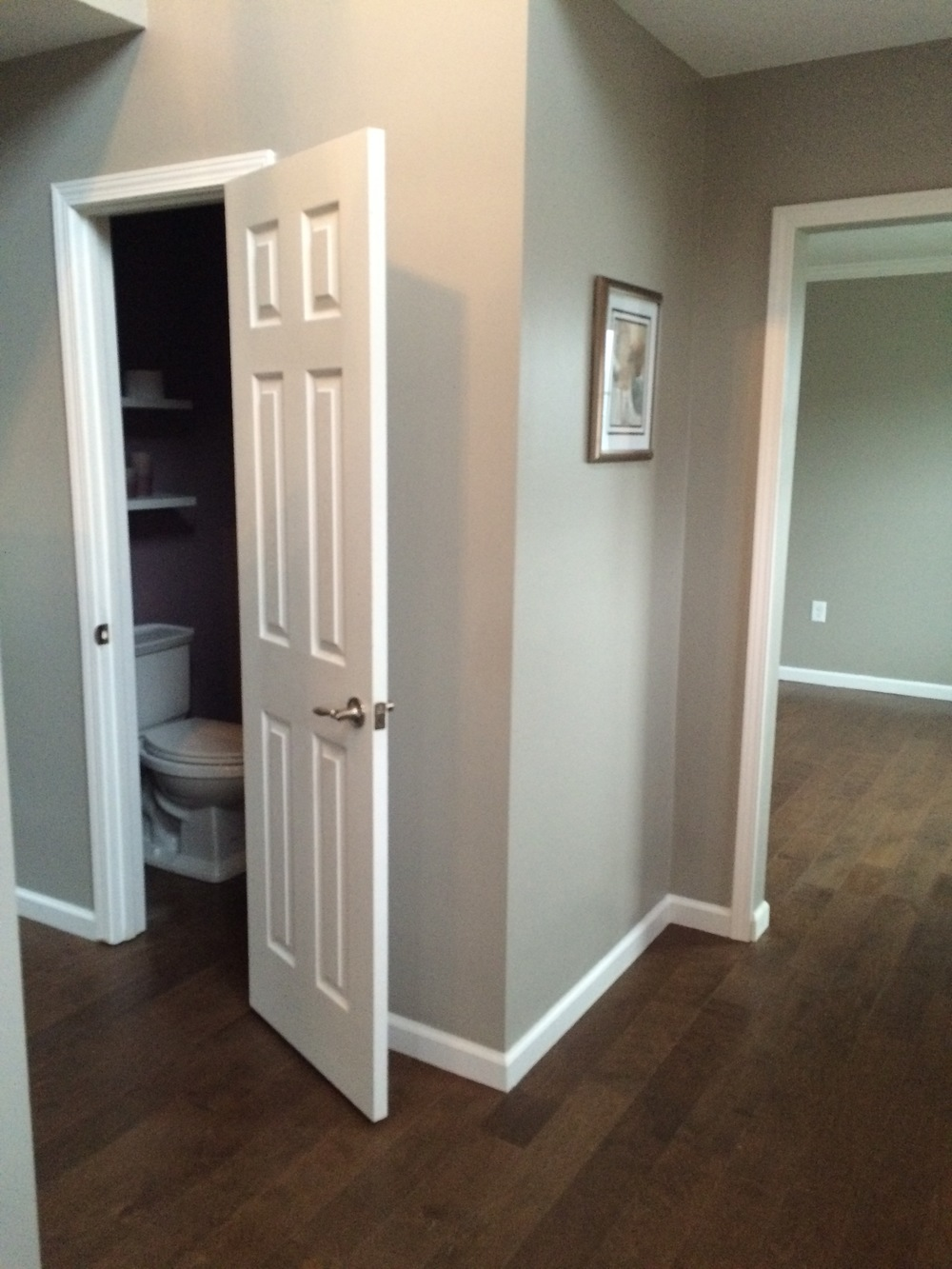 Foyer/Powder Room - AFTER