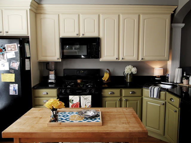 DIY - Painting Kitchen Cabinets — Boston Belle