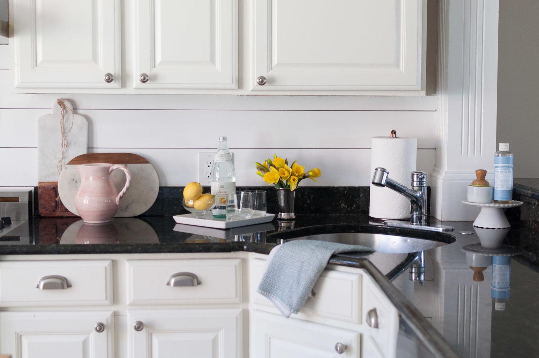Kitchen Update: Shiplap Backsplash! — Boston Belle